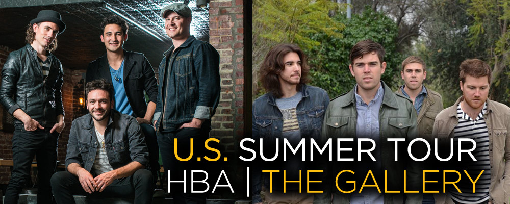 Honor By August & The Gallery U.S. Summer Tour